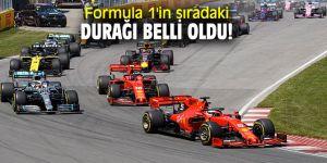Formula 1'in sıradaki durağı belli oldu!