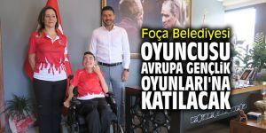 Foça Belediyesi oyuncusu Avrupa Gençlik Oyunları'na katılacak