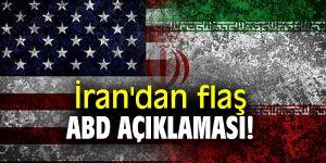 İran'dan flaş ABD açıklaması!