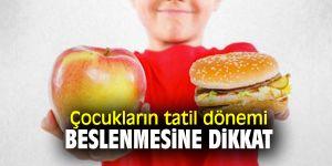 Uzmanı uyardı! Çocukların tatil dönemi beslenmesine dikkat