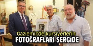 Gaziemir'de kursiyerlerin fotoğrafları sergide