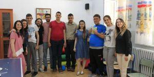 Lezita çalışanları, doğum günlerini kutladı