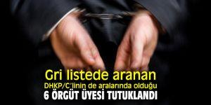 Gri listede aranan DHKP/C'li tutuklandı!