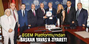 EGEM Platformu'ndan Başkan Yavaş'a ziyaret!