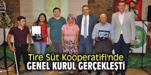 Tire Süt Kooperatifi'nde genel kurul gerçekleşti