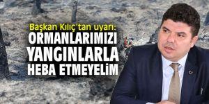 Başkan Kılıç'tan vatandaşlara çağrı!
