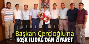 Başkan Çerçioğlu'na Köşk Ilıdağ'dan ziyaret