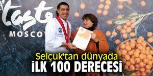 Selçuk'tan dünyada ilk 100 derecesi