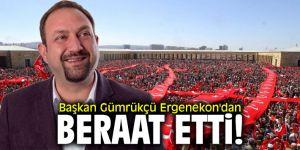 Başkan Gümrükçü Ergenekon'dan beraat etti!