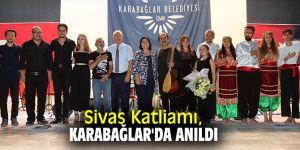 Sivas Katliamı, Karabağlar'da anıldı