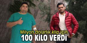 Can Pulat milyon dolarlık klip için 100 kilo verdi