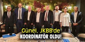 Günel, JKBB'de koordinatör oldu!