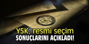 YSK resmi seçim sonuçlarını açıkladı! Resmi Gazete'de yayımlandı!