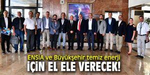 ENSİA'dan Başkan Soyer'e ziyaret!