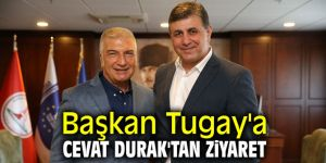 Cemil Tugay'a Cevat Durak'tan ziyaret