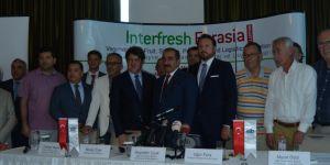 Interfresh Eurasia Fuarı'na yoğun ilgi!