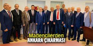 Madencilerden Ankara çıkarması