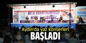 Aydın'da yaz konserleri başladı