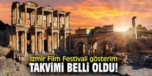 İzmir Film Festivali heyecanı başlıyor!