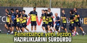 Fenerbahçe'de yeni sezon için çalışmalar devam ediyor