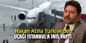 Halk Bankası Eski Genel Müdür Yardımcısı Mehmet Hakan Atilla Türkiye'de!