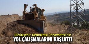 İzmir Büyükşehir Belediyesi yol çalışmalarına devam ediyor!