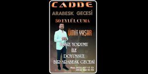 """Ümit Yaşar ile İzmir'de """"Arabesk Gecesi"""""""