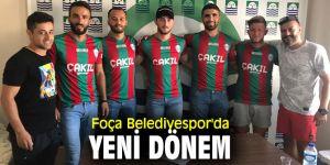 Foça Belediyespor Kulübü'nde yeni dönem