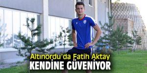 """Fatih Aktay, """"Bu sezon artık Fatih zamanı"""""""
