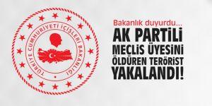 AK Partili meclis üyesini öldüren terörist yakalandı!