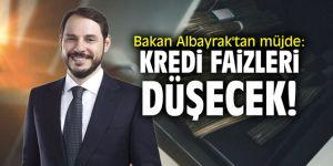 """Bakan Albayrak'tan müjde: """"Kredi faizleri düşecek!"""""""