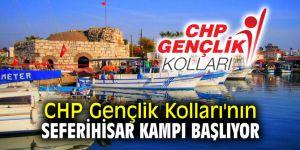CHP Gençlik Kolları'nın Seferihisar kampı başlıyor