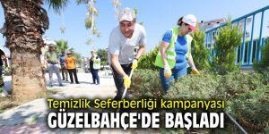 Temizlik Seferberliği kampanyası Güzelbahçe'de başladı
