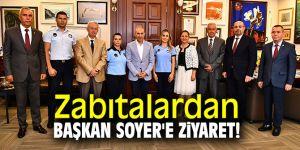Zabıtalardan Başkan Soyer'e ziyaret!
