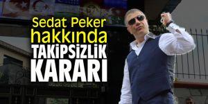 Sedat Peker hakkında takipsizlik kararı verildi