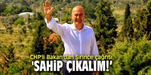 """CHP'li Bakan, """"Başka Şirince yok, şimdi sahip çıkalım!'"""