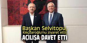 Başkan Selvitopu, Kılıçdaroğlu'nu ziyaret etti; açılışa davet etti