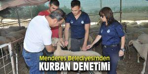 Menderes Belediyesi'nden Kurban Bayramı denetimi!