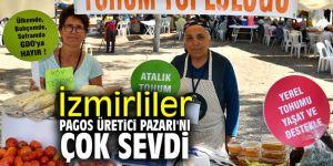 İzmir, Pagos Üretici Pazarı'nı çok sevdi