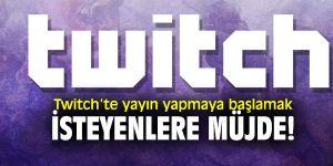 Twitch yayın açma yazılımı için kayıtlara başladı