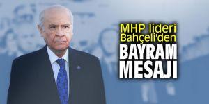 """MHP lideri Bahçeli'den bayram mesajı: """"Geleceğimizi kurban etmeyeceğiz"""""""