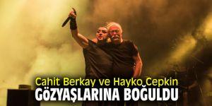 Cahit Berkay ve Hayko Cepkin gözyaşlarına boğuldu
