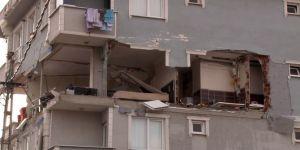 Binada doğalgaz patlaması: 1 yaralı!