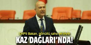 CHP'li Bakan'dan Su ve Vicdan Nöbeti'ne destek!