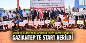 Doğu ve Güneydoğu Anadolu Takım Şampiyonası başladı!