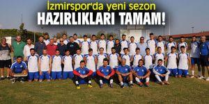 İzmirspor'da yeni sezon hazırlıkları tamam!