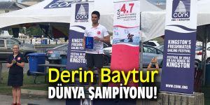Derin Baytur U16 kategorisinde Dünya Şampiyonu oldu
