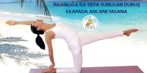 Yoga duruşu tekniği yogaseverlere tanıtıldı!