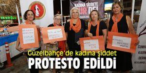 Güzelbahçe Belediyesi ve Güzelbahçe'den kadına şiddete tepki!
