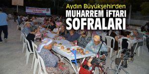 Aydın Büyükşehir'den muharrem iftarı sofraları